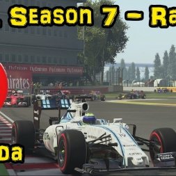 F1XL Season 7 Race Highlights - Round 7: Canada