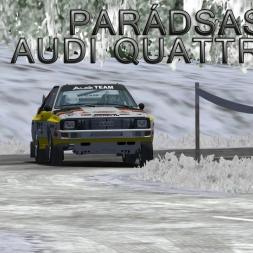 Audi Quattro S1   Parádsasvár (Monte Edition)