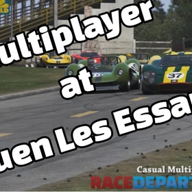 Project Cars Multiplayer at Rouen Les Essarts