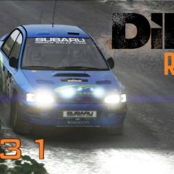 DiRT Rally Gameplay: Crash Avoidance - Episode 31