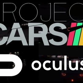 Project Cars Oculus Rift Multiplayer Night Race at Donington GP