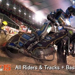 FIM Speedway Grand Prix 15 - All Riders & Tracks + Basic Features