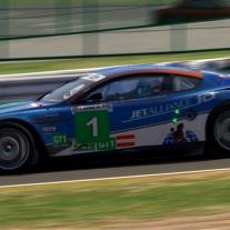 iRacing: Aston Martin DBR9 GT1 at Suzuka GP: Hotlaps