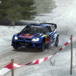 DiRT Rally VW Polo R WRC Sweden (Stor-jangen Sprint)