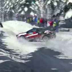 DiRT Rally - First mistakes in Rally Sweden