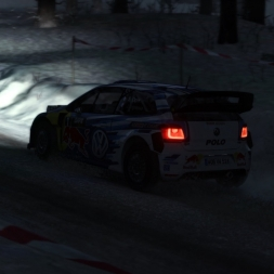 DiRT Rally VW Polo R WRC Sweden (Stor-jangen Sprint)
