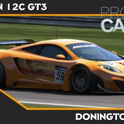 Project Cars - Mclaren 12C GT3 - Donington Park