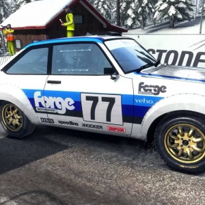 Dirt Rally - Ford Escort MKII @ Sweden