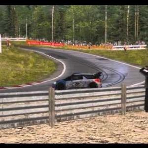 Assetto Corsa - RallyLegends Mod - Citroën DS3 WRC Powerslide @ Holjesrx