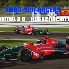 PCARS Formula C @ Hockenheim GP Highlights with text commentary