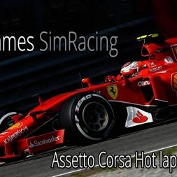 F1Simgames Assetto Corsa MGR F1 2015 @ Sochi (Driver Eye)
