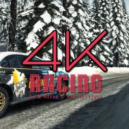 4k @ 60fps   DiRT Rally   Mitsubishi Lancer Evo X   Sweden   tv