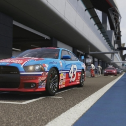 Dodge Charger Endurance Race @ Silverstone (1080p60fps)
