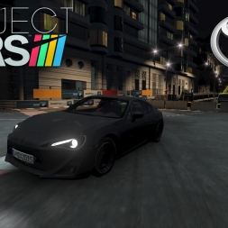 Project CARS: Toyota GT-86 Night Hotlap at Monaco (2:01.556)