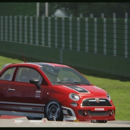 Hotlapping the Abarth (1080p60fps)