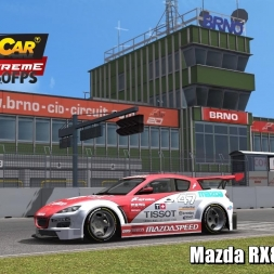 Mazda RX8 TC @ Brno Driver's View - Stock Car Extreme 60FPS