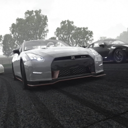 Assetto Corsa Multiplayer #6 - Nissan Nismo GT-R Vallelunga (epic race)