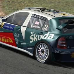 Skoda Fabia WRC | Transfagarasan | Test