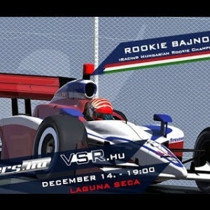 iRacing Hungarian Rookie Championship 2015/16 | R7 Laguna Seca | Balazs Toldi OnBoard