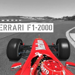 rFactor 2 - Ferrari F1-2000 @ Autódromo do Estoril - Onboard