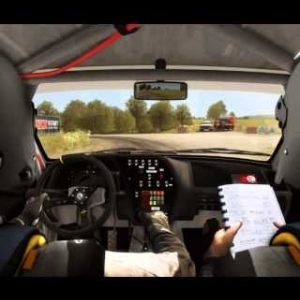 Dirt Rally Peugeot 306 Maxi @ Flugzeugring Reverse