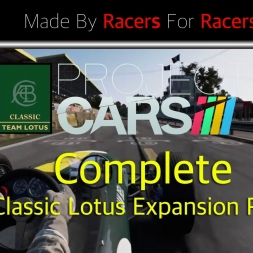 Project Cars - Classic Lotus Expansion Pack + Free Car Showcase