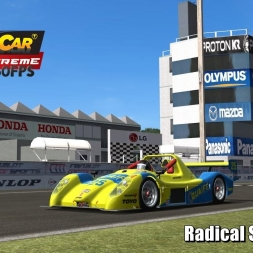 Radical SR3 @ Sportsland Sugo Driver's View - Stock Car Extreme 60FPS