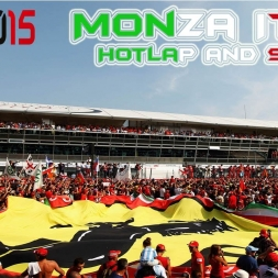 F1 2015 | Monza Dry Setup and Hotlap