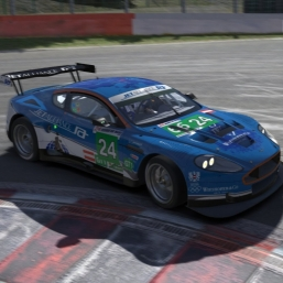 iRacing 16S1: Aston Martin DBR9 GT1 at Spa-Francorchamps: Hotlap+Onboard