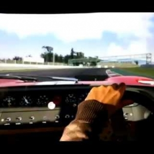 Assetto Corsa at a large screen :)