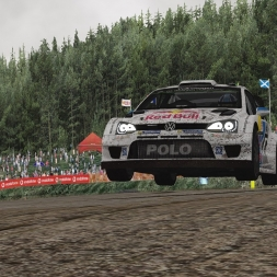 Assetto Corsa VW Polo WRC 2015 on Kouvola Rallycross