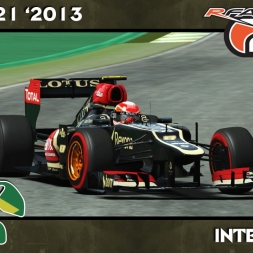 Rfactor 2 - Formula 1 - Lotus E21 - Interlagos