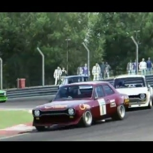 Assetto Corsa Ford Escort RS 1600 at Brands Hatch GP Circuit