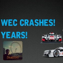 TOP 5 WEC CRASHES! 5 YEARS!