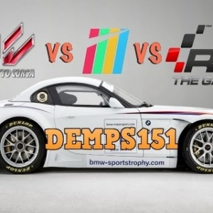 Assetto Corsa v Project Cars v Raceroom, Brands Hatch