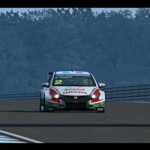 RaceRoom Racing Experience | Honda Civic WTCC @ Chang International Circuit