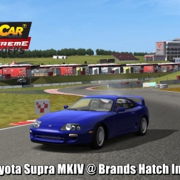 Toyota Supra MKIV @ Brands Hatch Indy Driver's View - Stock Car Extreme 60FPS
