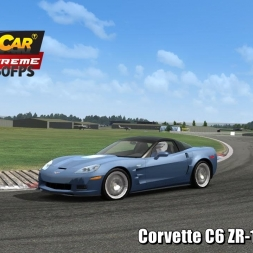 Corvette C6 ZR-1 @ Thruxton Driver's View - Stock Car Extreme 60FPS