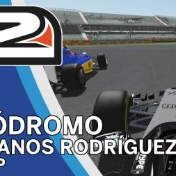 rFactor 2 - Force India VJM08B @ Autódromo Hermanos Rodríguez - Onboard