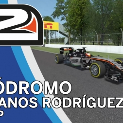 rFactor 2 - Force India VJM08B @ Autódromo Hermanos Rodríguez - TV-Cam