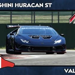 Asseto Corsa - Lamborghini Huracan ST -  Vallelunga