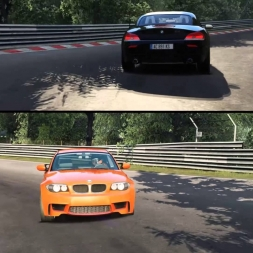 Assetto Corsa - BMW 1M vs Z4