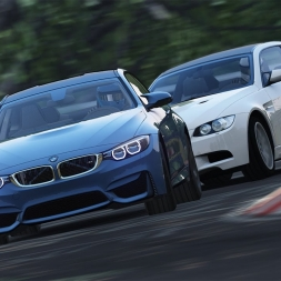 Assetto Corsa -  BMW M3 vs M4 on Nordschleife
