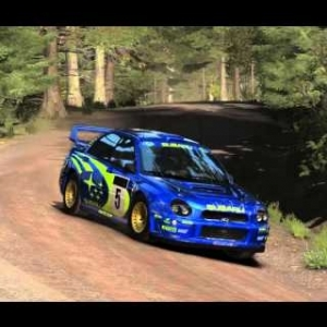 DiRT Rally - Subaru slow-mo jumps
