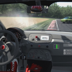 Assetto Corsa: Abarth 500 Assetto Corse vs Brands Hatch - Pushing