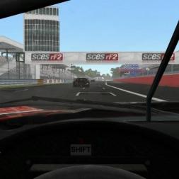 Chevrolet Corvette C6.R ALMS GT2 @ Monza Driver's View - rFactor 2 60FPS