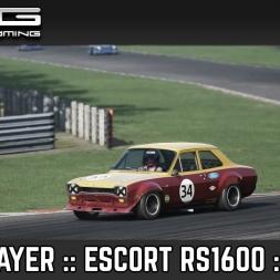 Assetto Corsa :: Multiplayer :: Escort RS1600 :: Brands Hatch