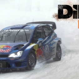 DIRT Rally | Polo Test | Lysvik | 05:51.635 | Balazs Toldi OnBoard