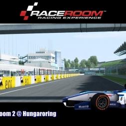 Formula RaceRoom 2 @ Hungaroring - RaceRoom Racing Experience 60FPS