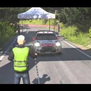 Sebastien Loeb Rally Demo Gameplay in the DS3 Rally Car '13 at Sanremo final